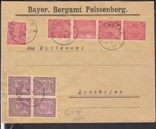 Deutsches Reich Dienstmarken Stempel Peissenberg 1923 - Lettres & Documents
