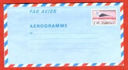 France Entier Postal  EP Aérogramme Avion Concorde Tarif 3,30 - Postal Stamped Stationery