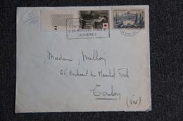 Enveloppe Envoyée De PARIS  à TOULON - 1921-1960: Période Moderne