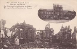 CPA Ruines De Lens, Les écoles Supérieures Et Campon (pk34227) - Lens