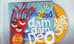 Cd 2 Titres Felicidad -- Dam Dam Deo - // Miami Dance - Miami Coconut Groove - Dance, Techno & House