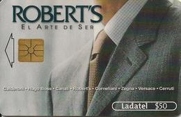 CARTE-PUCE-MEXIQUE-GEM--50 $-2001-ROBERT'S L ART De S HABILLER-TBE - Mexique
