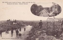 CPA Ruines De Lens, Boulevard Des Ecoles (pk34232) - Lens