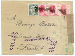 ESPAÑA 1938  Carta   27 Division  Brigada Mixta  122   Base 8 C.C. 18  Hasta  Francia    EL524 - 1931-Today: 2nd Rep - ... Juan Carlos I