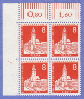 BER SC #9N125 MNH B4, 1956 City Hall,Neukolln CV $1.20 - Unused Stamps