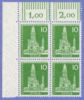 BER SC #9N126 MNH B4, 1956 K. Wilhelm Mem. Church CV $1.00 - Unused Stamps