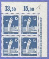 BER SC #9N127 MNH B4, 1956 Airlift Memorial CV $1.60 - Unused Stamps