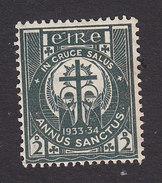 Ireland, Scott #88, Mint Hinged, Adoration Of The Cross, Issued 1933 - 1922-37 Stato Libero D'Irlanda