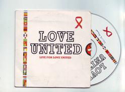 Cd 2 Titres Love United - Soul - R&B