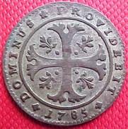 MONNAIE SUISSE CANTON DE BERN , 1/2 BATZEN 1785 , Ours , SWITZERLAND OLD COIN - Suisse