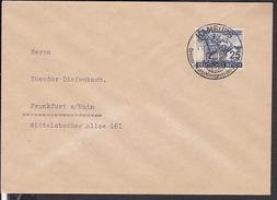 """Brief Deutsches Reich Sonderstempel Hamburg """" Großer Deutschlandpreis .."""" 1942 - Allemagne"""