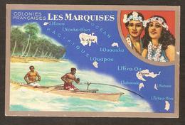 Les Iles Marquises , Océan Pacifique , Collier De Fleurs - Polynésie Française