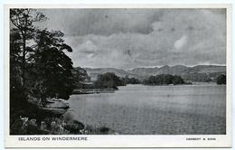 LAKE DISTRICT : ISLANDS ON WINDERMERE - Cumberland/ Westmorland