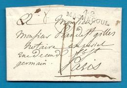 Loire Inférieure - Machecoul Pour Paris. LAC De 1810. Ente Des Douanes Impériales - Marcophilie (Lettres)