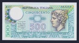 """1974 ITALIA 500 LIRE """"TESTA DI MERCURIO"""" (DECRETO 14-02-1974) FDS - 500 Lire"""