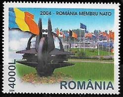 ROMANIA 2004, Roumanie Membre OTAN NATO, 1 Val MNH