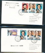 British Antarctic Territory Explorers Ships On Cover Rothera Point Adelaide Island Ship Bransfield 1977-78 A04s
