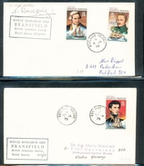 British Antarctic Territory Research Ship Branson  Explorers Ships On Cover Rothera Signed  Adelaide Island 1974-75 A04s