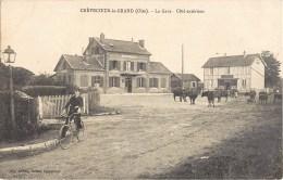 CREVECOEUR-LE-GRAND LA GARE ANIMEE 60 OISE - Crevecoeur Le Grand