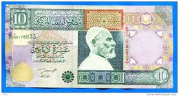 Libye  10  Dinars    Sig  4 - Libya