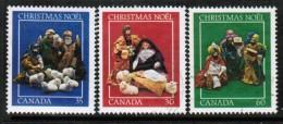 CANADA  Scott # 973-5 VF USED