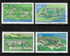 CANADA  Scott # 1050-9 VF USED