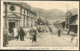 Nishihon Machi Street, Moji Japan Postcard - Japan