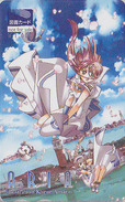 Carte Prépayée Japon - MANGA - ARIA By KOZUE AMANO - ANIME  Japan Prepaid Card Tosho Karte - NFS 7848 - BD