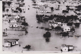 FLOODS IN TEXAS  ROBSTOWN 1958   USA UNITED STATES   PHOTO DE PRESSE - Lugares