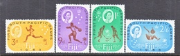 FIJI  199-202  *  SOUTH  PACIFIC  GAMES - Fiji (1970-...)