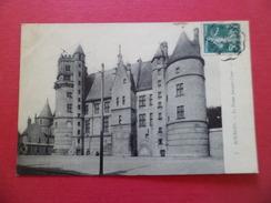 CPA ND  7- Bourges Le Palais Jacques Coeur  Pour Coulommiers Avec N°137 Cachet Ambulant Nevers à Vierzon 13/5/1909  B/TB - 1877-1920: Semi-Moderne