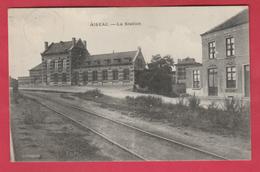 Aiseau - La Station - 1921 ( Voir Verso ) - Aiseau-Presles
