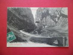 CPA LF Edit Toulouse Vallée D'Aspe -Urdos Cachet De Facteur A2 Le N°137 Cachet à Date Pointillé Asasp Le 24/7/1909  B/TB - 1877-1920: Semi-Moderne