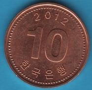 South Korea 10 WON 2012 KM# 103 - Korea, South