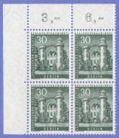 BER SC #9N130 MNH B4 1957 Phaueninsel Castle, CV $3.40 - [5] Berlin