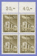 BER SC #9N132 MNH B4 1956 Reuter Power Plant CV $3.40 - Unused Stamps