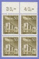 BER SC #9N132 MNH B4 1956 Reuter Power Plant CV $3.40 - [5] Berlin