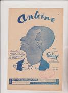 ( GB16) ANTOINE , FORTUGE , Paroles : MARC HELY , Musique : A VALSIEN Illustrateur : GIR - Noten & Partituren