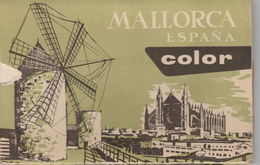 17 / 4 / 280  -   DÉPLIANT  DE  MALLORCA    -  CPM (grand Modèle ) - 5 - 99 Karten