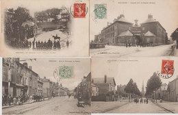 08 Mézières 1906-1907 Lot De 12 Cpa Dont Animées Divers éditeurs Toutes Voyagé