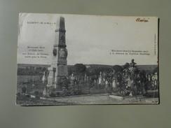 MEURTHE ET MOSELLE BLAMONT MONUMENT ELEVE 10/06/1901 AUX ENFANTS DU CANTON MORTS POUR LA PATRIE  27/09/1903 MEMOIRE DU.. - Blamont