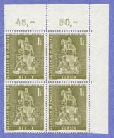 BER  SC #9N135 MNH B4 1956 Monument / Frederick William CV $7.00 - [5] Berlin