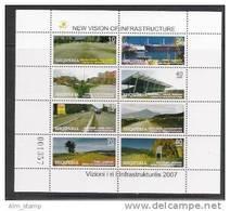 "Albanien 2007 Mi.  3235-42 ** MNH "" Moderne Infrastruktur"" - Albania"