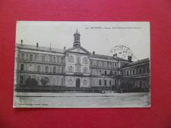 CPA Edit.N .G. Bourges N°49. Cachet Ambulant Vierzon à Tours Le 4/5/1923 Pour Châtel-Guyon Le 5/5/1923 Paire N°158  B/TB - 1877-1920: Semi-Moderne