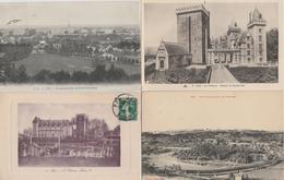 17 / 4 / 284  - LOT  DE  11  CPA  &  1  CPSM   DE  PAU  - Toutes  Scanées - Cartoline