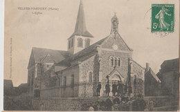 Villers Marmery 1907 L'église Animée éditeur Phototypie Bienaimé Et Dupont à Reims - France