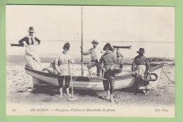 ARCACHON : Parqueuses D'Huîtres Et Marchandes De Poisson. TBE. 2 Scans. Edition ND - Arcachon