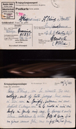 11660) CARTOLINA POSTALE IN FRANCHIGIA Kriegsgefangenenlager Stammlager IX A PRIGIONIERI ITALIANI CIVILI IN GERMANIA VIA - 1900-44 Vittorio Emanuele III