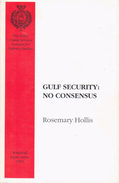 Gulf Security: No Consensus (Whitehall Paper) By Hollis, Rosemary (ISBN 9780855160876) - Books, Magazines, Comics