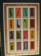 Aitutaki 1980  Art - Sculpture - Art & Antique Objects S/s MNH